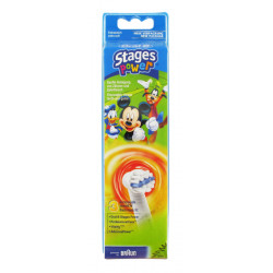 ORAL B KIDS STAGES Brossette de rechange EB 10