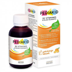 Pediakid 22 Vitamines et Oligo-Eléments 125 ml