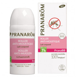 Pranarom PranaBB Roller Anti-moustique Lait corporel Bio (Eco) 30 ml
