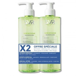 SVR Sebiaclear Eau Micellaire Lot de 2 x 400 ml