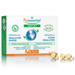 PURESSENTIEL RESP OK 15 CAPSULES POUR INHALATION HUMIDE