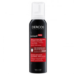 Vichy Dercos Aminexil Men Mousse Anti-Chute Traitement Triple Action 150 ml