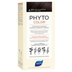 Phyto Color Kit coloration permanente 4,77 Châtain Marron Profond
