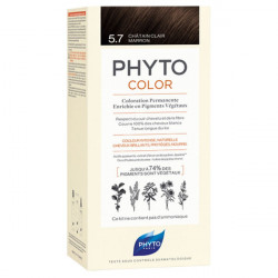 Phyto PhytoColor Kit coloration permanente 5,7 Châtain Clair Marron