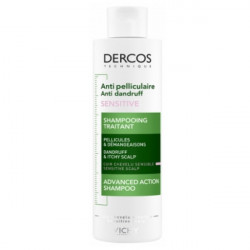 Vichy Dercos Antipelliculaire Sensitive  Shampooing Traitant 200 ml