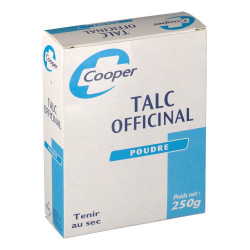 Cooper Talc Officinal Poudre 250g