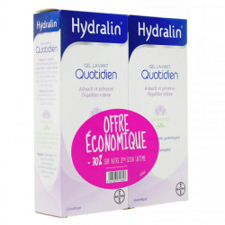 Hydralin Quotidien gel lavant 400 ml x 2