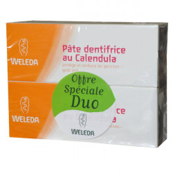 Weleda Pâte Dentifrice au Calendula 75ml, lot de 2
