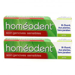 Boiron Homéodent Soin Gencives Sensibles Anis 75ml, lot de 2