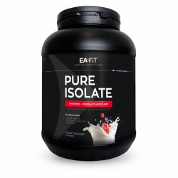 Eafit Pure Isolate 100% Whey Isolat Fruits Rouges 750g