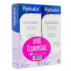 Hydralin Quotidien gel lavant 200 ml x 2