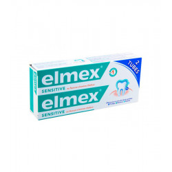 ELMEX SENSITIVE Dentifrice - 2x75 ml