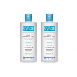 Uriage Eau Démaquillante Micellaire Lot de 2 x 500 ml