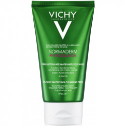 Vichy Normaderm Phytosolution Crème Nettoyante Matifiante Volcanique 125 ml