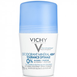 Vichy Déodorant Minéral 48H Tolérance Optimale Roll-On 50 ml