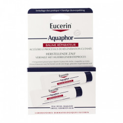 Eucerin Aquaphor Baume Réparateur Cutané Lot de 2 x 10 ml