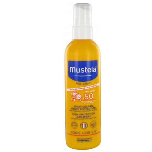 Mustela Spray Solaire Haute Protection SPF 50 200 ml