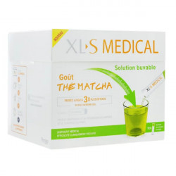 XLS Medical Solution buvable au goût Thé Matcha 90 sachets