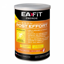 Eafit Boisson Energétique Post Effort Goût Orange 457g