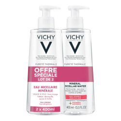 Vichy Pureté Thermale solution micellaire 2 X 400 ml