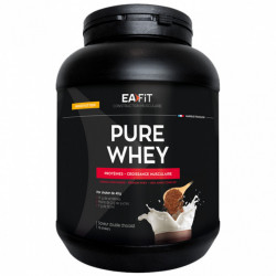 Eafit Construction Musculaire Pure Whey Double Chocolat 750 g