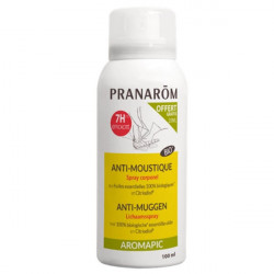 Pranarom Aromapic Anti-moustique Spray Corporel Bio 75 ml + 25 ml offert