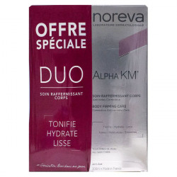 Noreva Alpha KM Soin Anti-Âge Raffermissant Corporel Lot de 2 x 200 ml