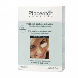 Placentor Pads Yeux Anti-Poches Anti-Rides 12 pads