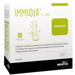 NHCO Immudia 1-3 ans 28 sticks